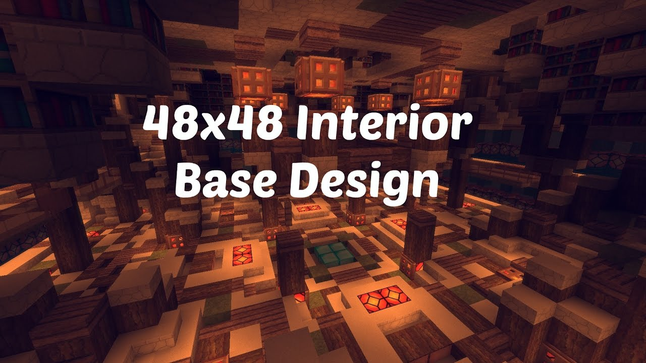 X Factions Base Tour Minecraft Factions Interior Design Ep  Youtube