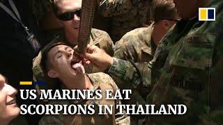 Coronavirus: US Marines learn jungle survival in Thailand as exercises go ahead despite epidemic