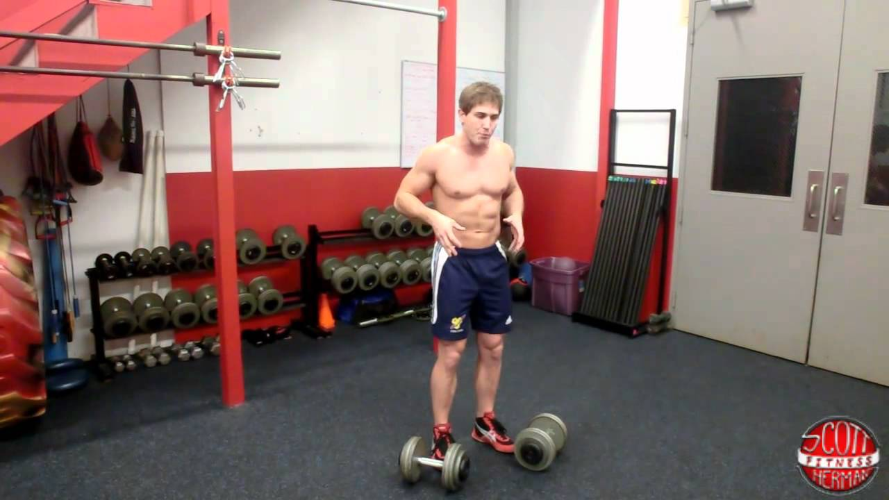 How to dumbbell deadlift youtube falaconquin