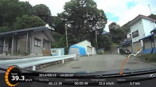 [車載] 長野県道36号 鬼無里→戸隠 その1 (鬼無里→大望峠)