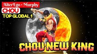 Chou New King [ Top Global 1 Chou ] AlterEgo • Murphy Chou Gameplay And Build