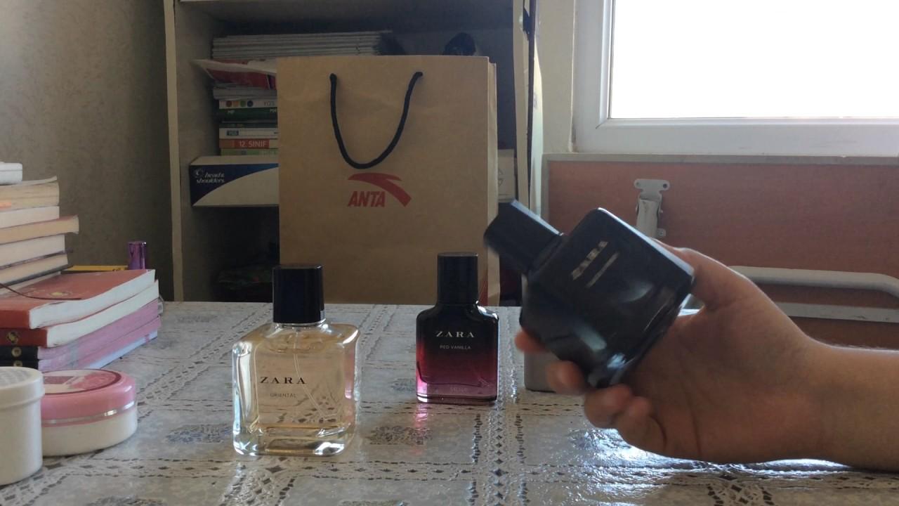 Zara Parfümlerimzara Orientalred Vanillablack Ambertwilight