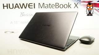 Huawei Matebook X Hands On - Stepping up the competition