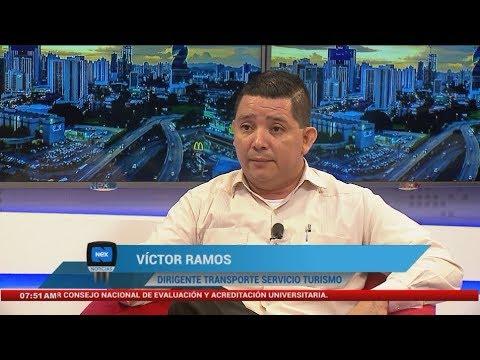Entrevista a Víctor Ramos, dirigente transporte de servicio turismo