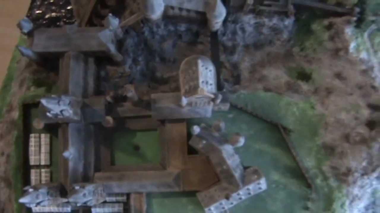 Homemade Hogwarts Grounds Model