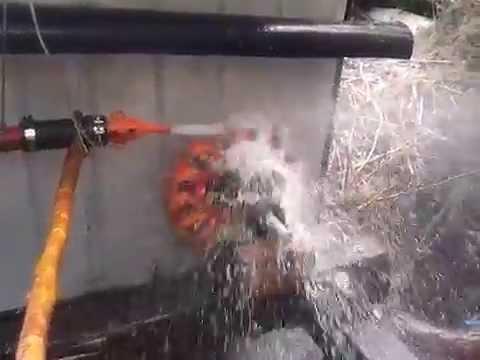 """""""Turbina, tipo pelton,hidroelectrica """" no contaminante.!!"""