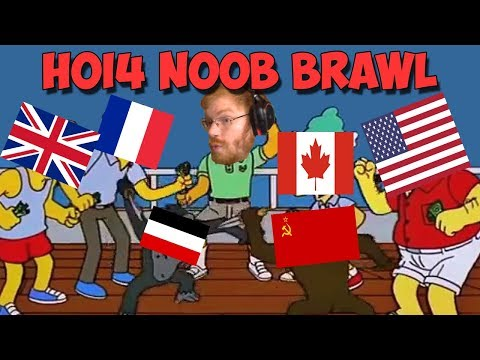 WHAT HAPPENS WHEN TOMMY JOINS A NOOB GAME AS CHINA? - HOI4 Multiplayer
