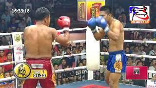 Kun Khmer, Keo Rumchong Vs Taksila (Thai), 07 July 2018 | Fights Zone