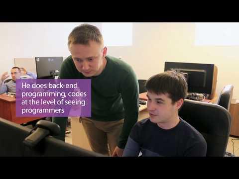 Meet Denys, the blind programmer from Lviv, Ukraine
