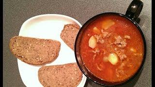 Любимые Рецепты.  Суп чили.  Очень сытный суп для холодного зимнего дня