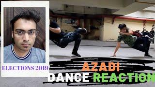 India Elections 2019 | आज़ादी |AZADI | MESSAGE FROM PUBLIC| DANCE CHOREOGRAPHY | NIKUNJ LUHARUKA