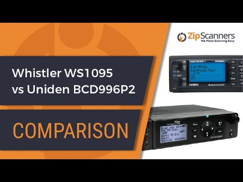 Whistler WS1095 vs Uniden BCD996P2 | Compare Police Scanners