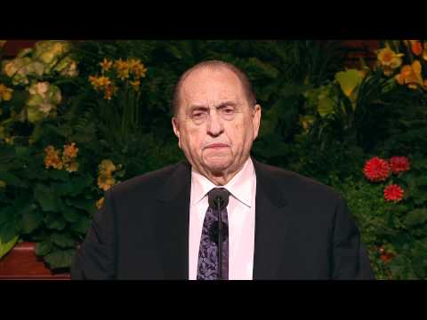 President Thomas S. Monson - The Holy Temple a Beacon to the World