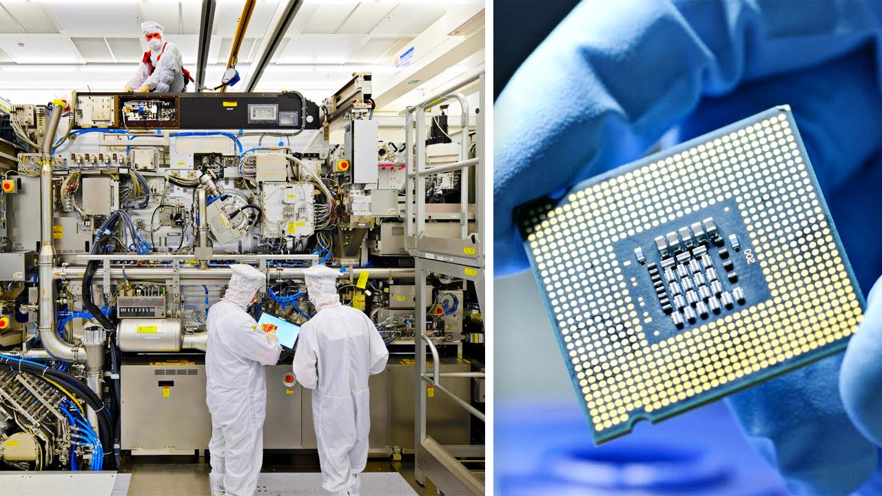 Inside The World's Largest Chips Factory