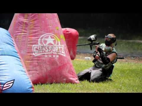 RNT Allstarz vs Tampa Bay Damage | New Layout | 2014 PSP West Coast Open Practice | Raw Paintball