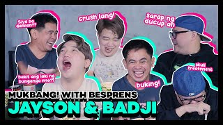 Ducup Mukbang with Jayson Gainza and Badji Mortiz