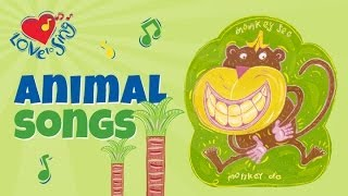 Monkey See, Monkey Do | Kids Animal Song & Action Song | Children Love to Sing
