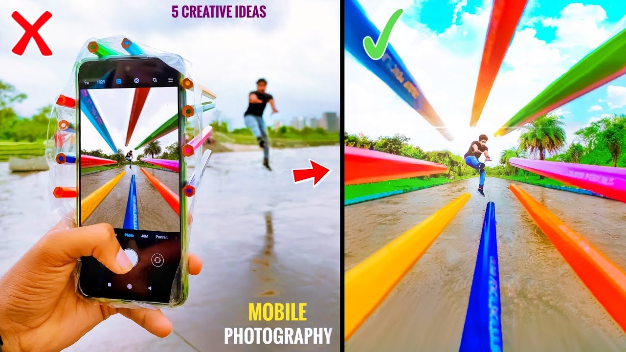 5 Wow Mobile Photography Tips & Tricks   Double Role Videography Tips   Creative Transitions