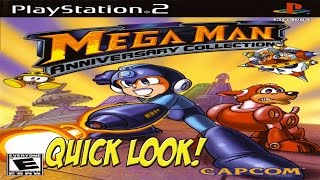PS2: Mega Man Anniversary Collection! Quick Look - YoVideogames