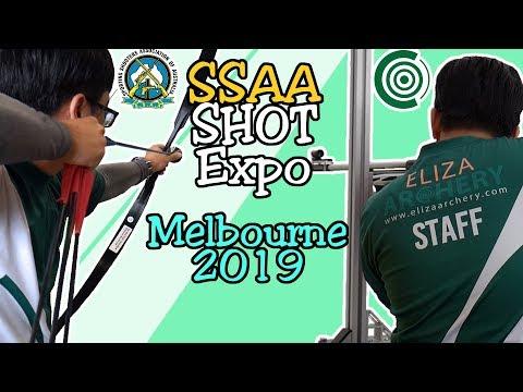 SSAA SHOT Expo Melbourne 2019 w/ NU & Eliza Archery