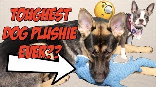THE TOUGHEST DOG PLUSHIE EVER??? Tender-Tuffs Review