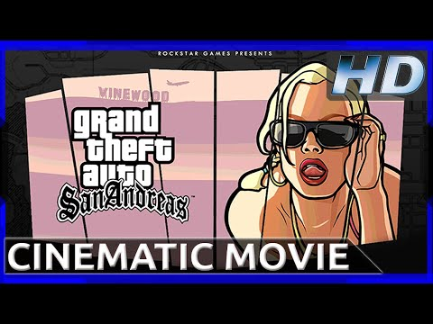 Grand Theft Auto: San Andreas - 10 Year Anniversary - Cinematic Movie (1080p HD)