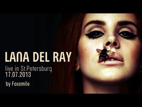 LANA DEL REY live at StPeterburg