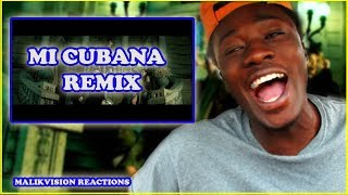AMERICAN REACTS TO ARGENTINIAN TRAP ( Mi Cubana Remix - Eladio Carrion X Khea X Cazzu X Ecko ) MALIK