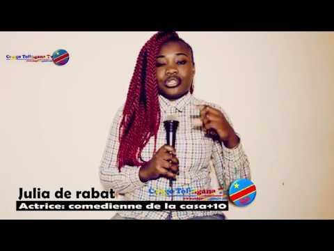 Meilleur actrice congolaise révélation de l'année 2019 JULIA DE RABAT