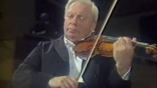 Isaac Stern & Jean-Bernard Pommier - César Franck  Violin Sonata in A major - 1st mvt.
