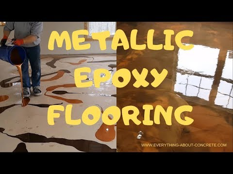 METALLIC EPOXY FLOORING : REFLECTOR ENHANCER EPOXY