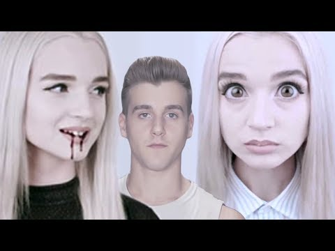Thumbnail: Reacting To Poppy (Creepiest Channel On YouTube)