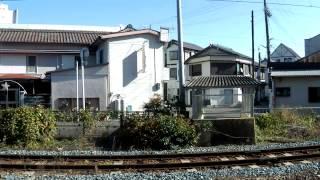 団体臨時列車 サロンカーなにわ忘年会号 新宮行き 紀伊勝浦駅発車 (H24.12.16)