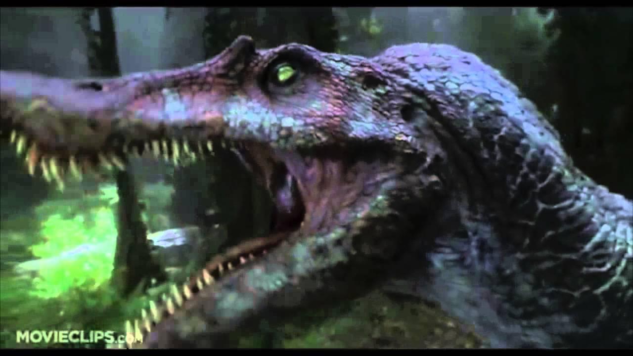 Spinosaurus roars at queen of hearts youtube - Spinosaurus jurassic park ...
