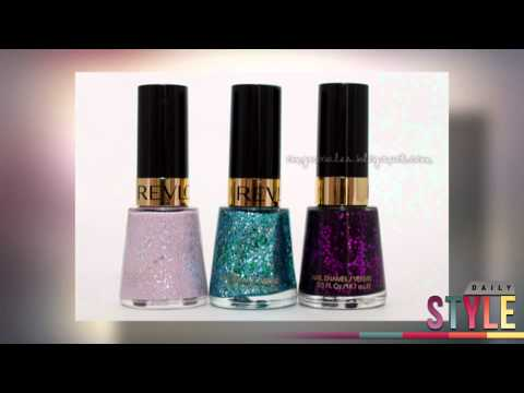 Katy Perry for OPI Revlon Sally Hansen: Glitter & Metallic Nails