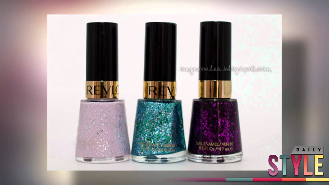 Katy Perry for OPI Revlon Sally Hansen: Glitter & Metallic Nails ...