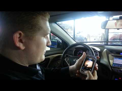How to Stream Audio via Bluetooth in Hyundai Elantra Sonata Azera