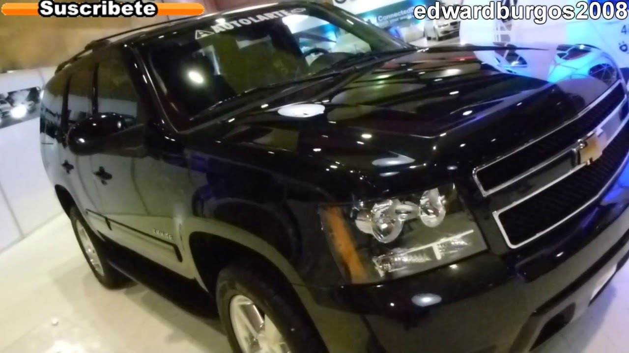 chevrolet tahoe 2012 colombia video de carros auto show ...