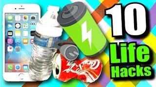 10 EASY Life Hacks Everyone Should Know!