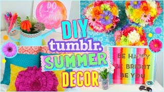Diy Summer Room Decor Ideas! | Make Your Room Cute For Summer!! ☼