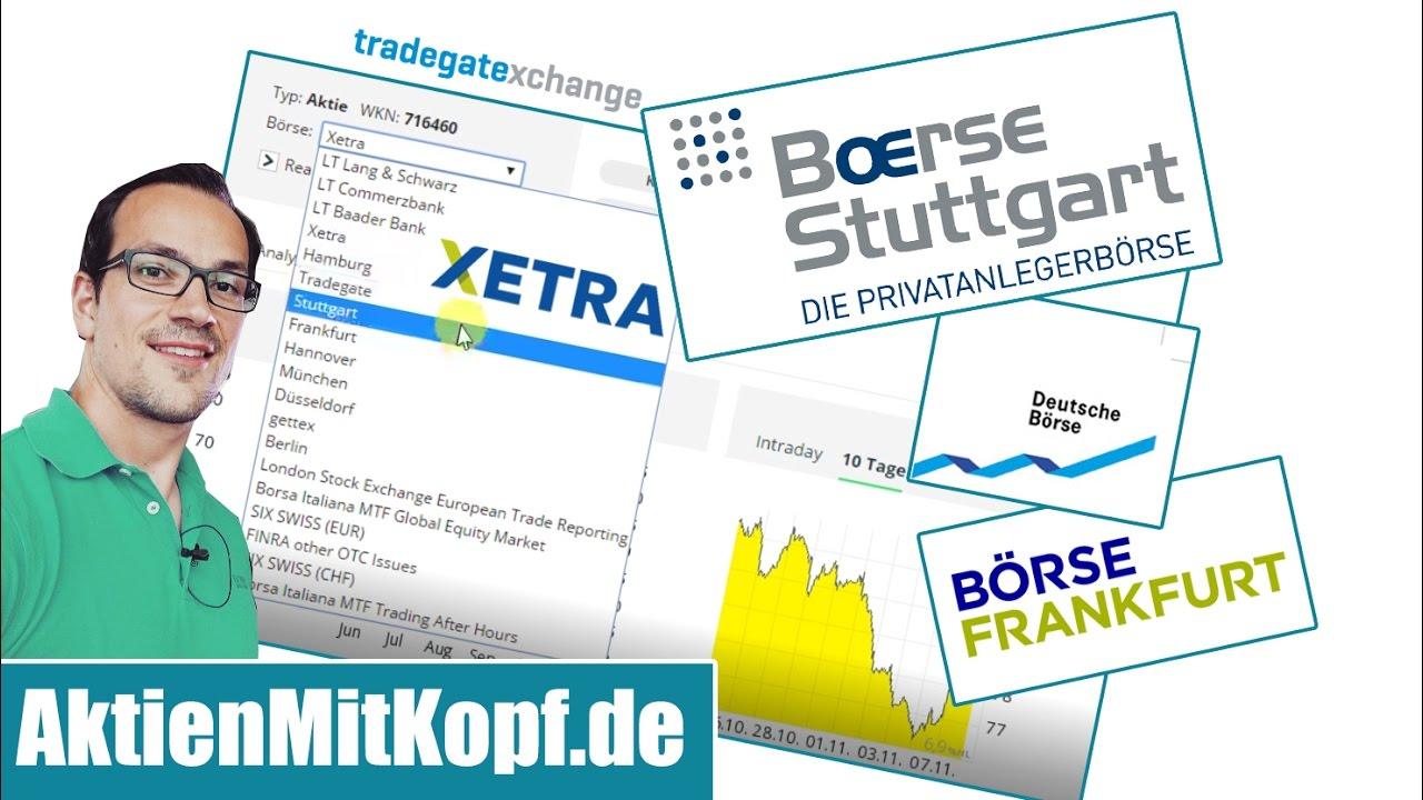 An Deutschen Börsen Aktien Kaufen 3 Wichtige Tipps Youtube