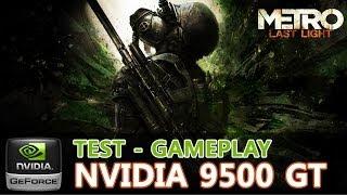 Metro Last Light - Geforce 9500 GT OC - Pentium E5200 - 2GB Ram - 720p [Medium/Low] - PC Gameplay
