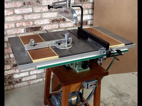 Detailed Look at Inca 259 Table Saw with Mortiser