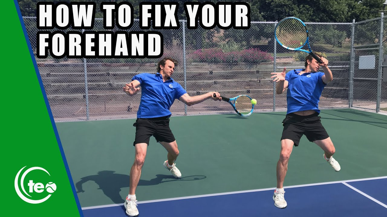 How To Fix Your Balance On The Forehand | FOREHAND LESSON