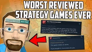 I Played The Worst Reviewed Strategy Games Ever On Steam