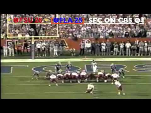 1997 #9 Florida Gators vs. #1 Florida State Seminoles: The Greatest Game Ever Played