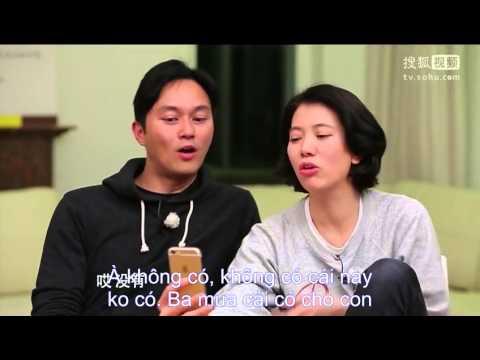 [Vietsub] Trương Trí Lâm & Viên Vịnh Nghị nói chuyện với con trai Morton
