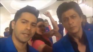 SRK and Kajol Devgan Dubsmash Video