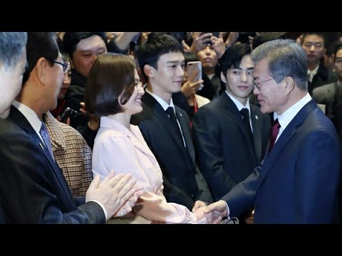 Today Song Hye Kyo Meet President of China at Beijing and Have Humble dinner