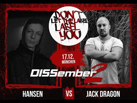 DLTLLY // Rap Battles // Jack Dragon VS. Hansen (DISSember2)